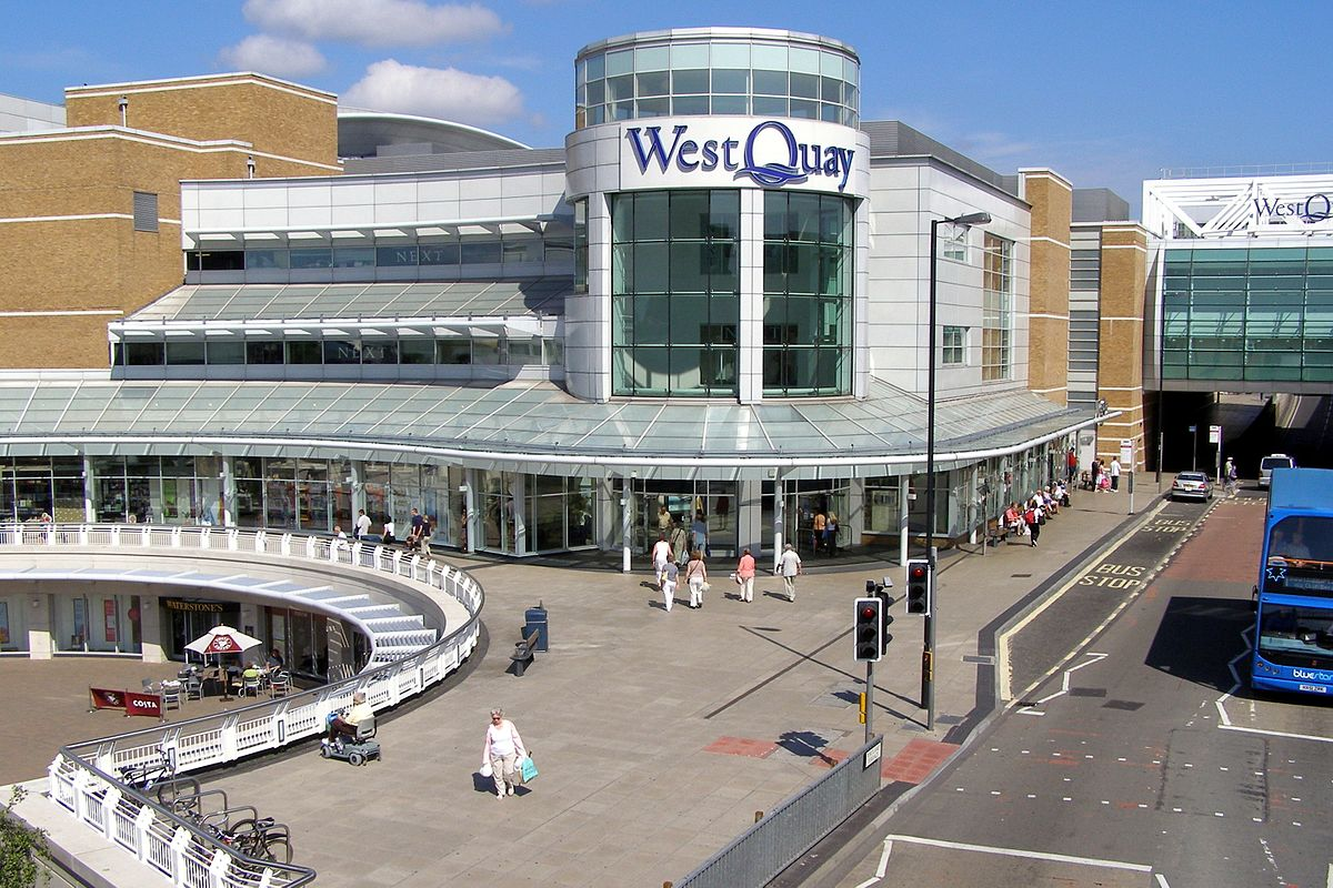 things to do in southampton westquay shoppig